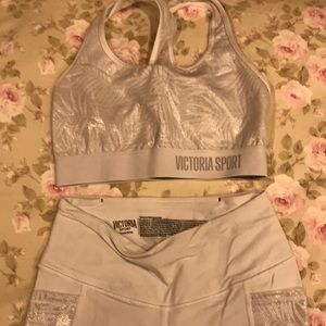 Victoria secret yoga set